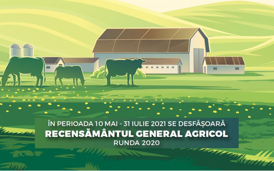 Recensământul general agricol 2021