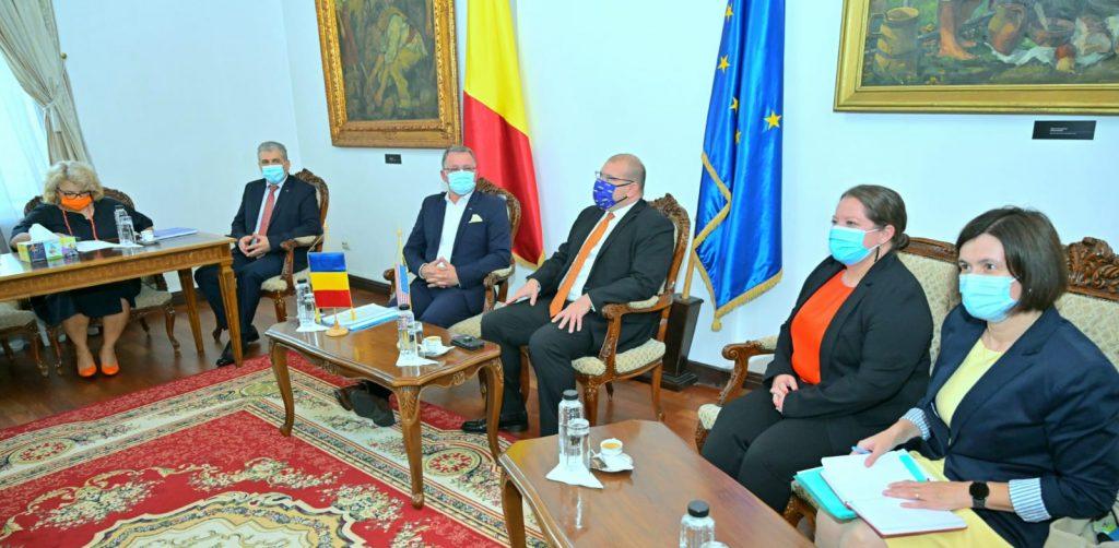 Întâlnire la sediul MADR cu o delegație a Ambasadei SUA la București